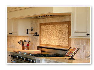 Ceramic and Tile Backsplash
